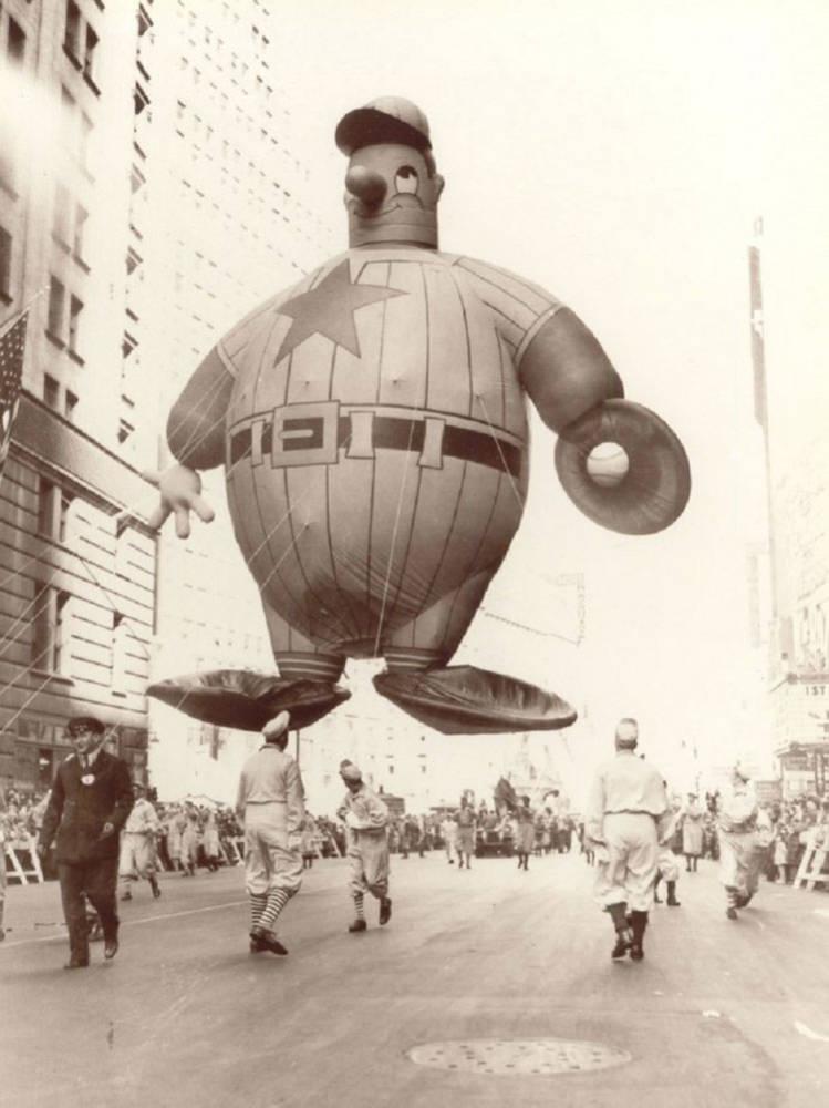 Vintage Macys Thanksgiving Day Parade Photos Harold Baseball