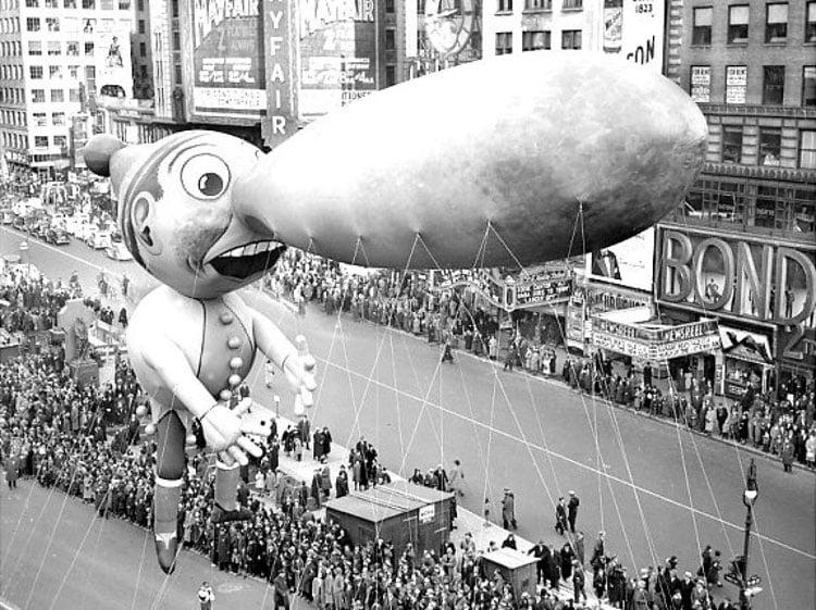 Vintage Macys Thanksgiving Day Parade Photos Pinocchio