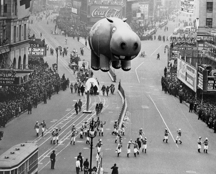 Vintage Macys Thanksgiving Day Parade Photos Hippo