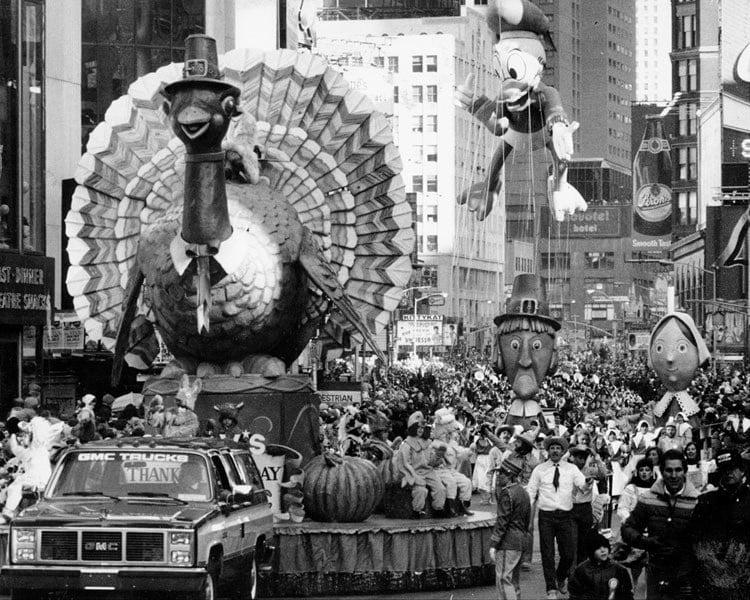 Vintage Macys Thanksgiving Day Parade Photos Turkey