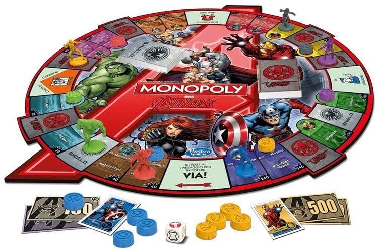 Weird Monopoly Games Avengers