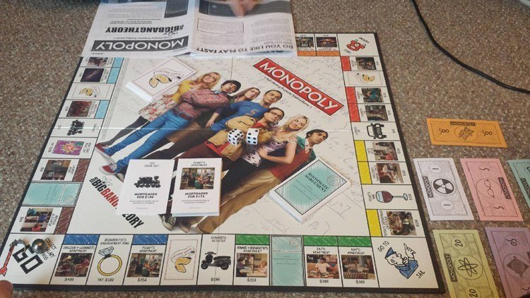 Weird Monopoly Games Big Bang Theory