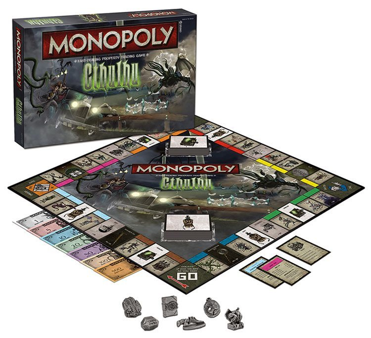 weird Monopoly games Cthulhu