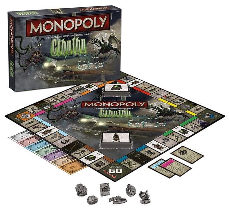 weird Monopoly games Cthulhu