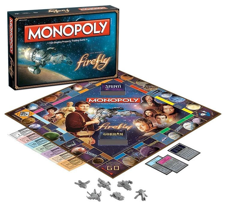 Weird Monopoly Games Firefly