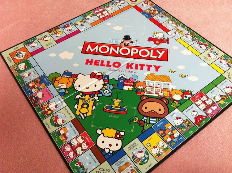 Weird Monopoly Games Hello Kitty