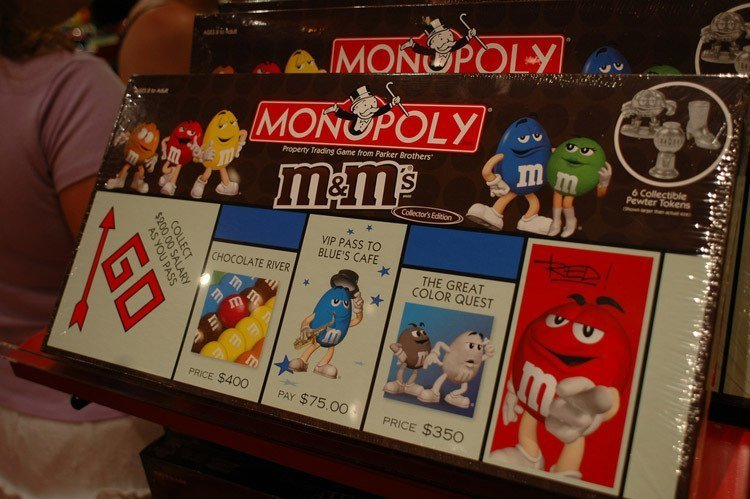 Weird Monopoly Games M_Ms