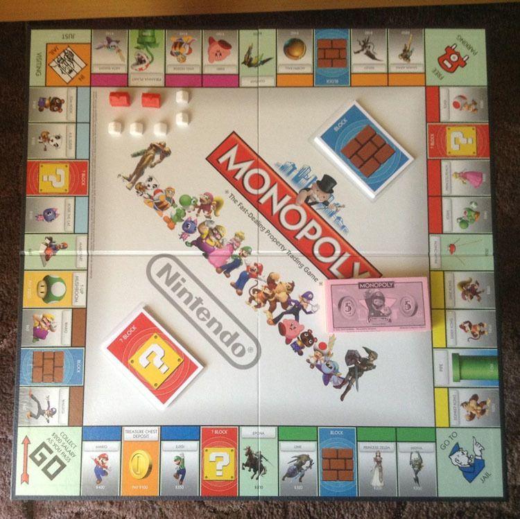 Weird Monopoly Games Nintendo