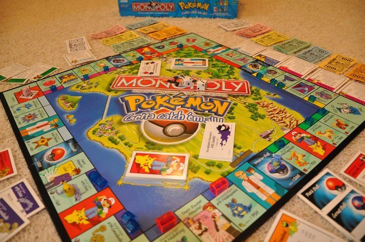 Weird Monopoly Games Pokemon