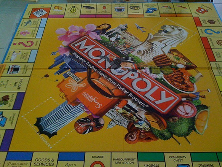 Weird Monopoly Games Singapore
