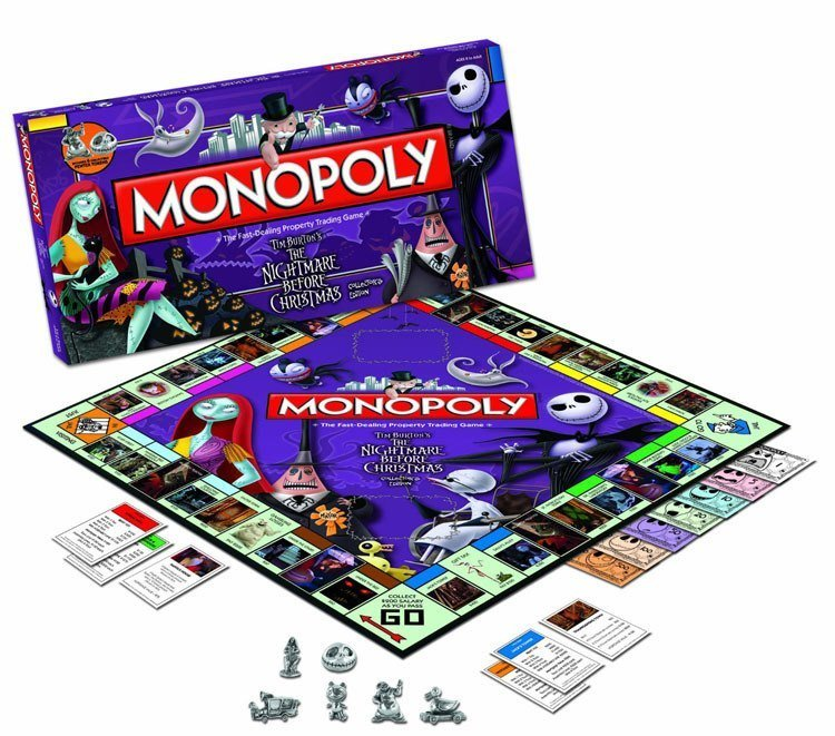 Weird Monopoly Games The Nightmare before christmas