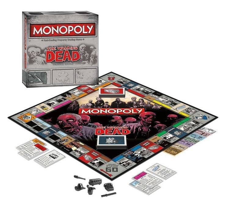 Weird Monopoly Games Walking Dead