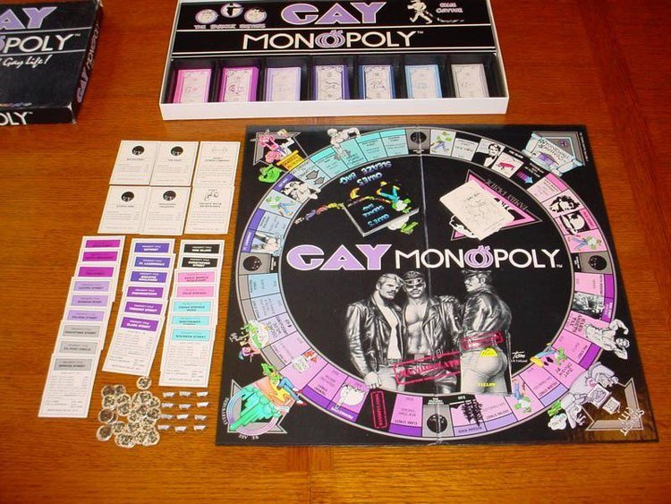 Weird Monopoly Games Gay