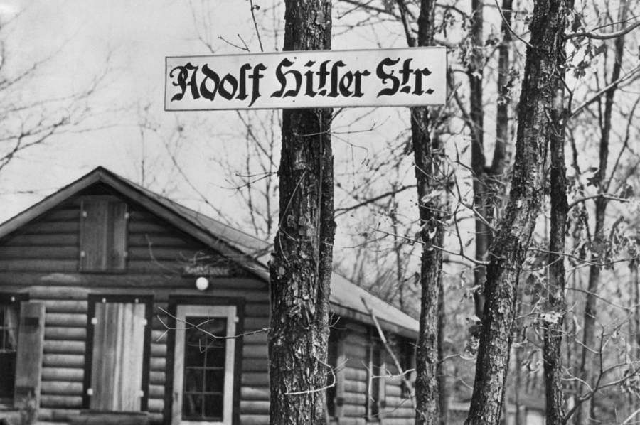 Yaphank Ny Hitler Street Sign