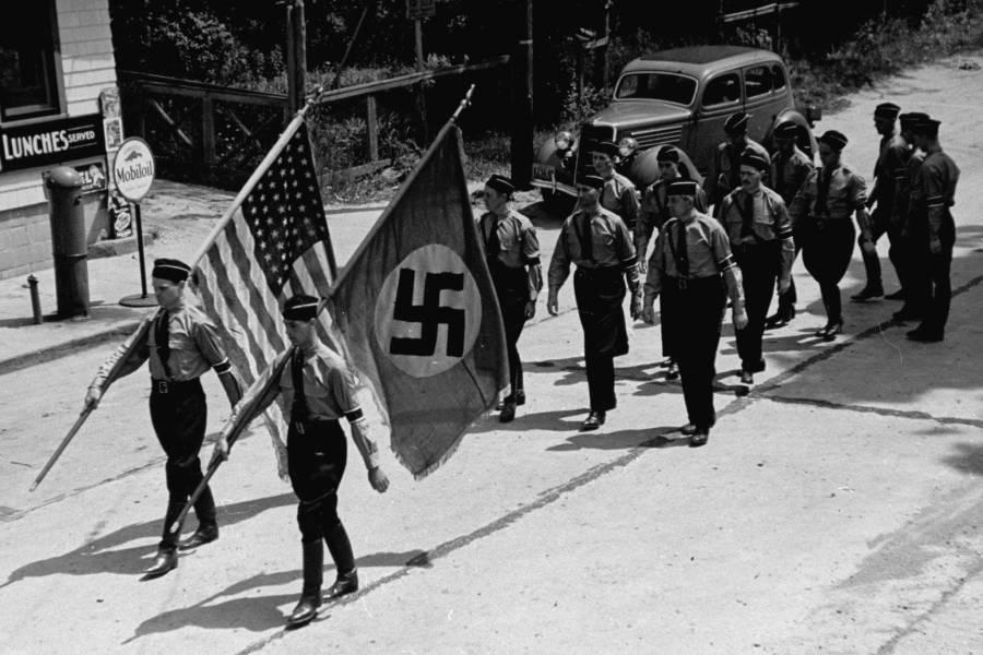 Yaphank Ny Nazi March