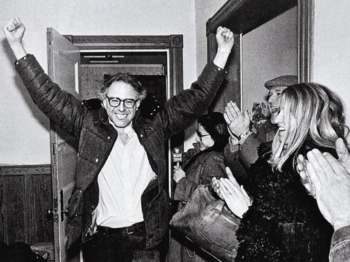 Young Bernie Sanders Victory