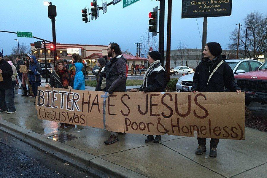 Cooper Court Protest