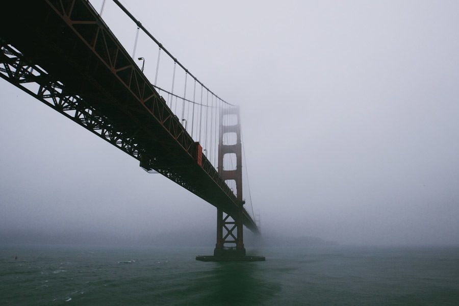 Golden Gate Bridge Facts Misty
