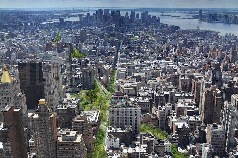 Green Line Park Manhattan