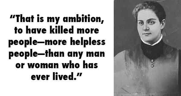 Jane Toppan Serial Killer Quotes