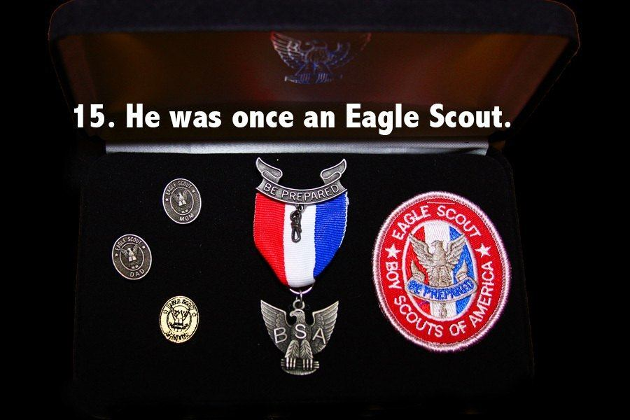 Steven Spielberg Facts Eagle Scout
