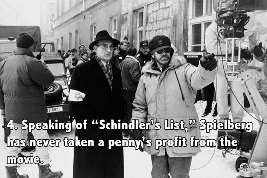 On The Set Of Schindler's List