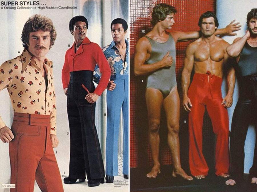 Weird 1970s Menswear Ads High Waisted