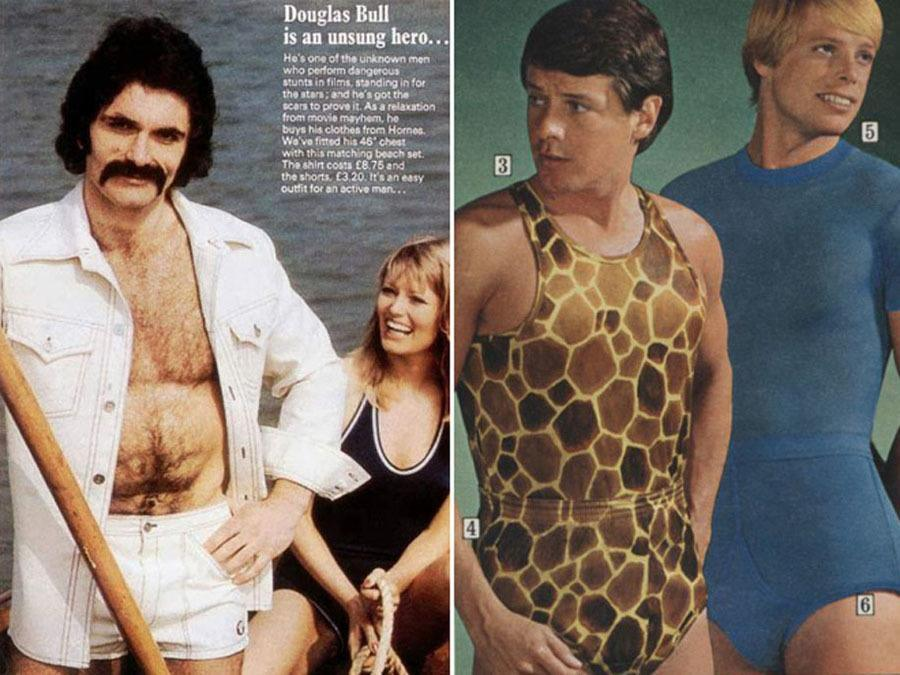 Weird 1970s Menswear Ads Leotards