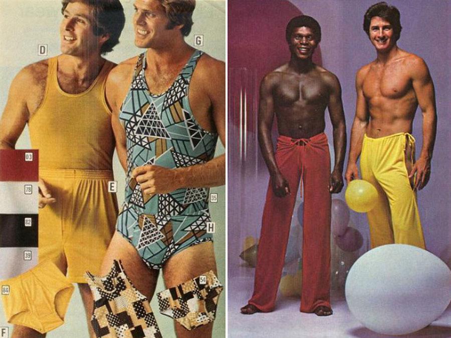 Weird 1970s Menswear Ads Onesies