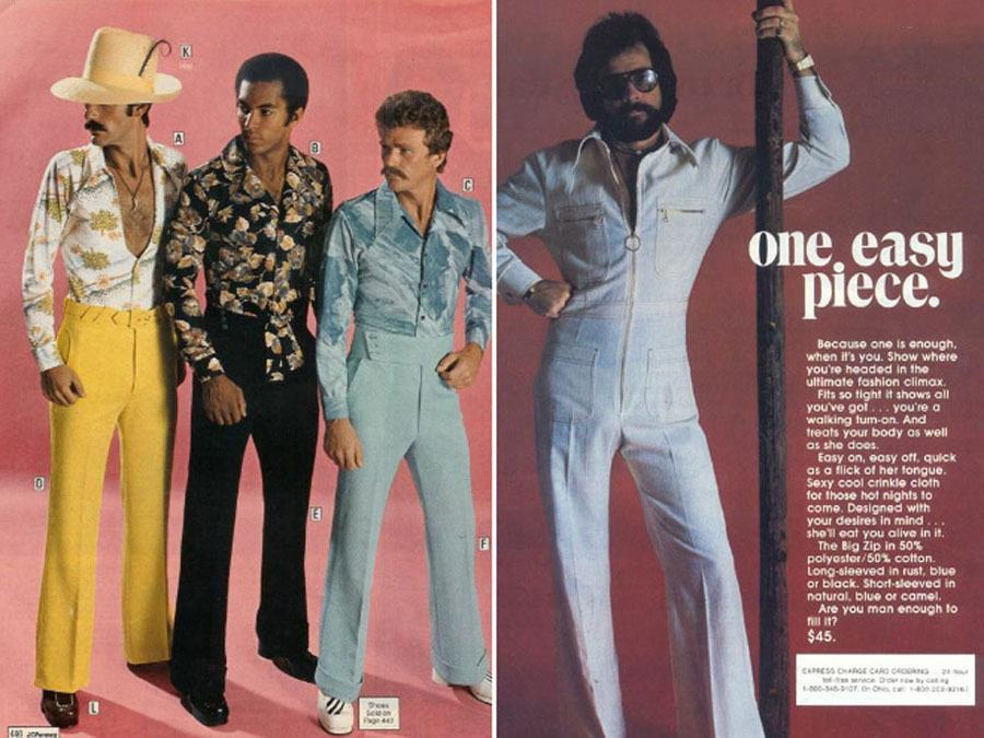 Weird 1970s Menswear Ads Pimp Suits