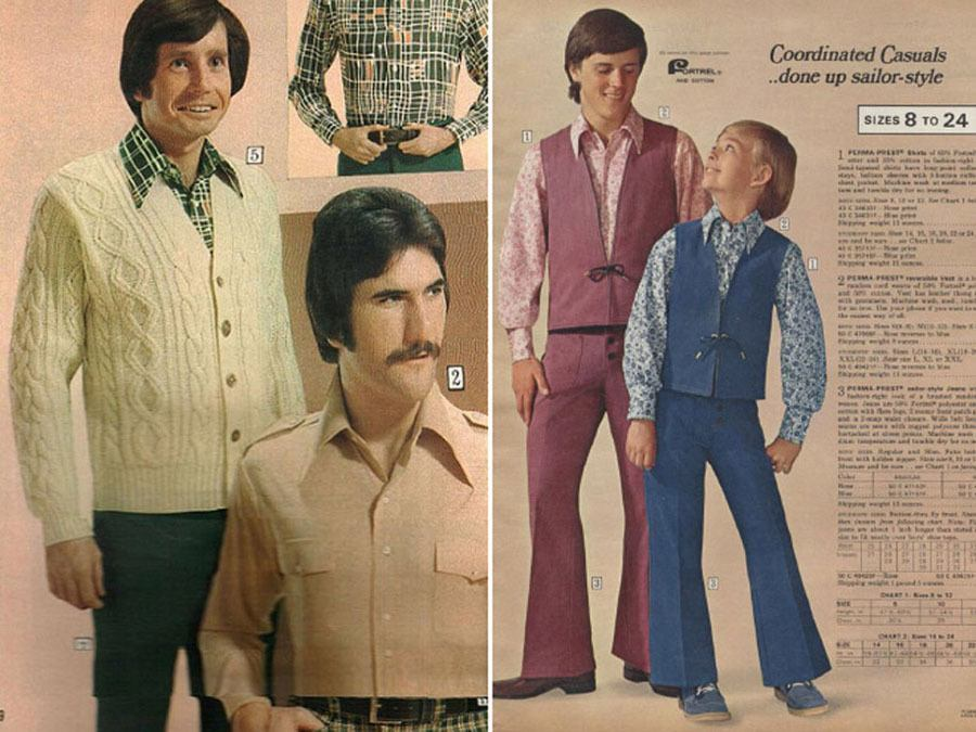 terrible 1970s menswear Ads Sailor Style