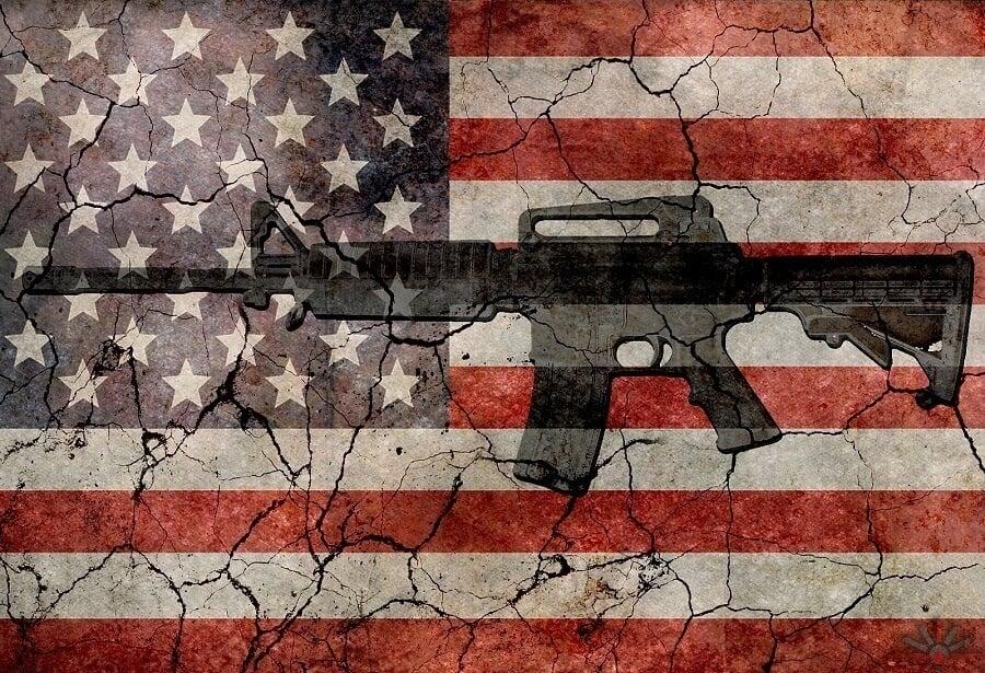 American Flag Rifle
