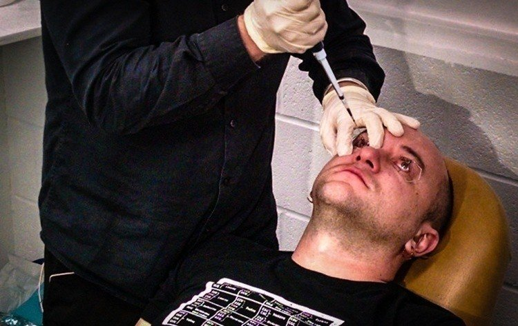 Biohacking Night Vision Eyedrops