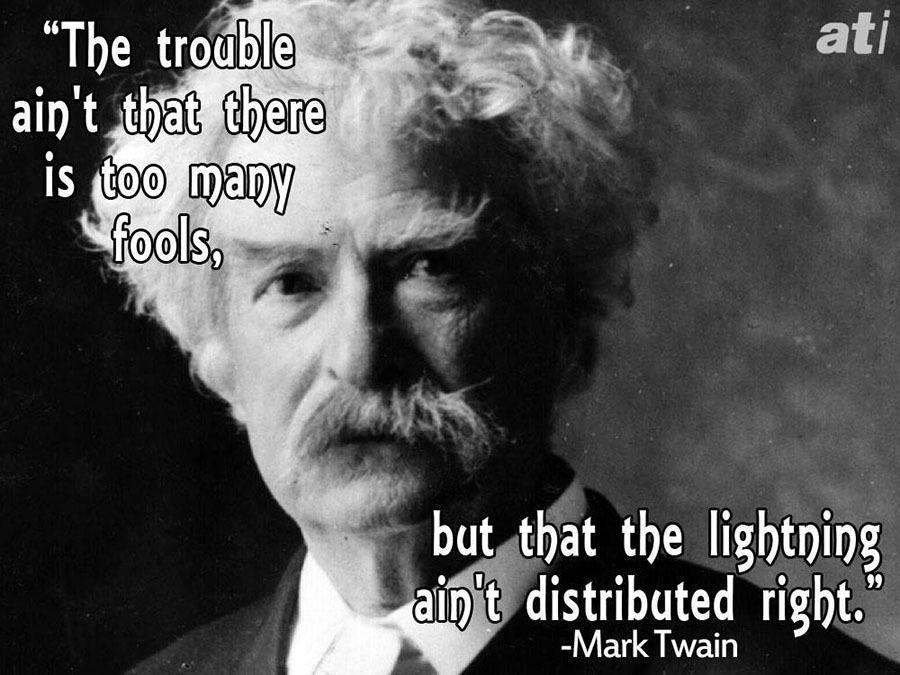 Famous Insults Mark Twain