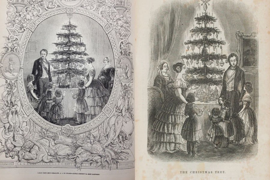 History Of Christmas Tree Royal Family