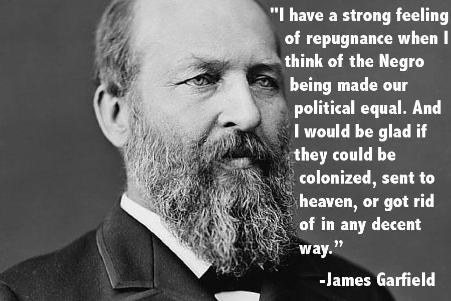 James Garfield Presidents