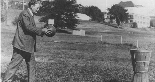 James Naismith Basketball Og