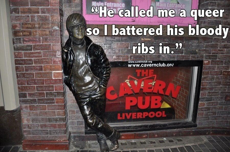John Lennon Cavern Club