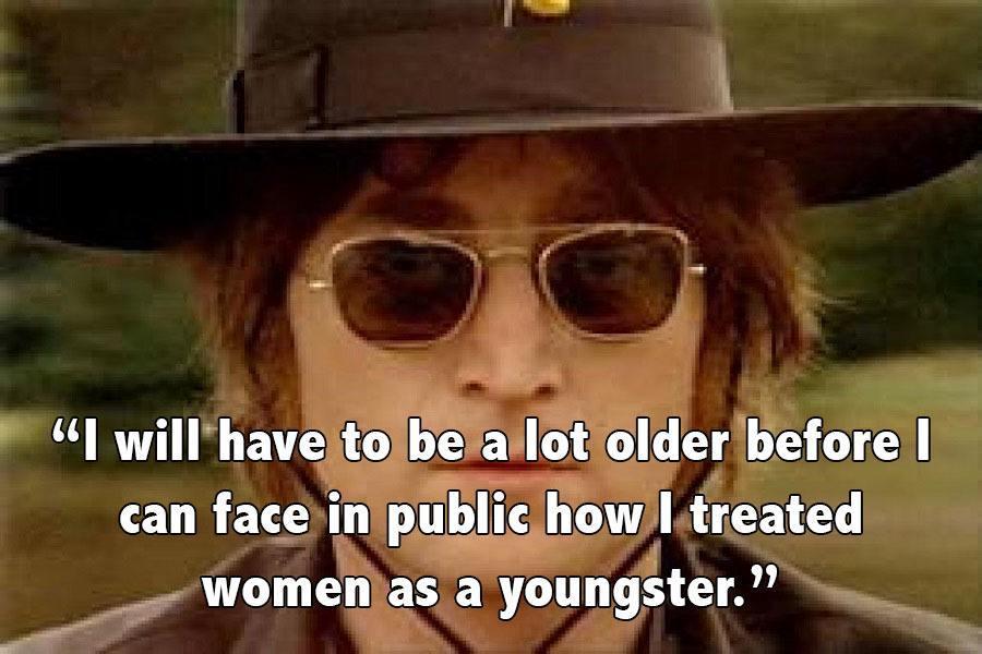 John Lennon Glasses Hat