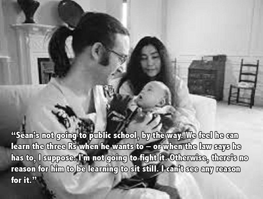 John Lennon Yoko Sean
