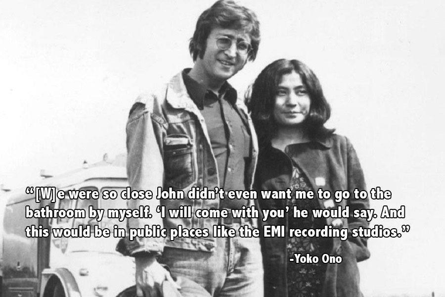 John Lennon Yoko Truck