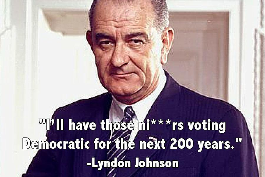 LBJ On Voting Democrats