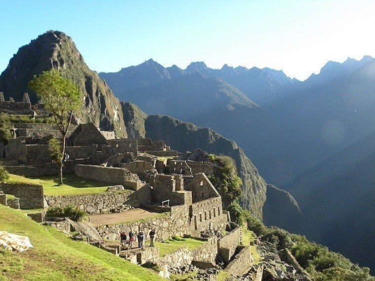 Machu Picchu Construction Site