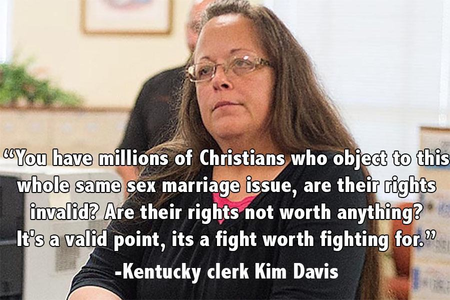 Memorable Quotes 2015 Kim Davis