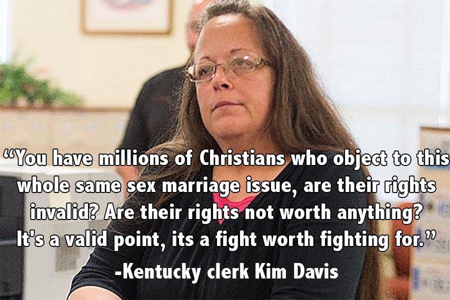 Memorable Quotes 2015 Kim Davis