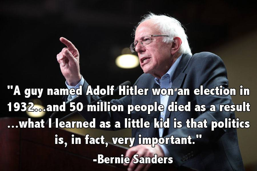 Memorable Quotes 2015 Sanders