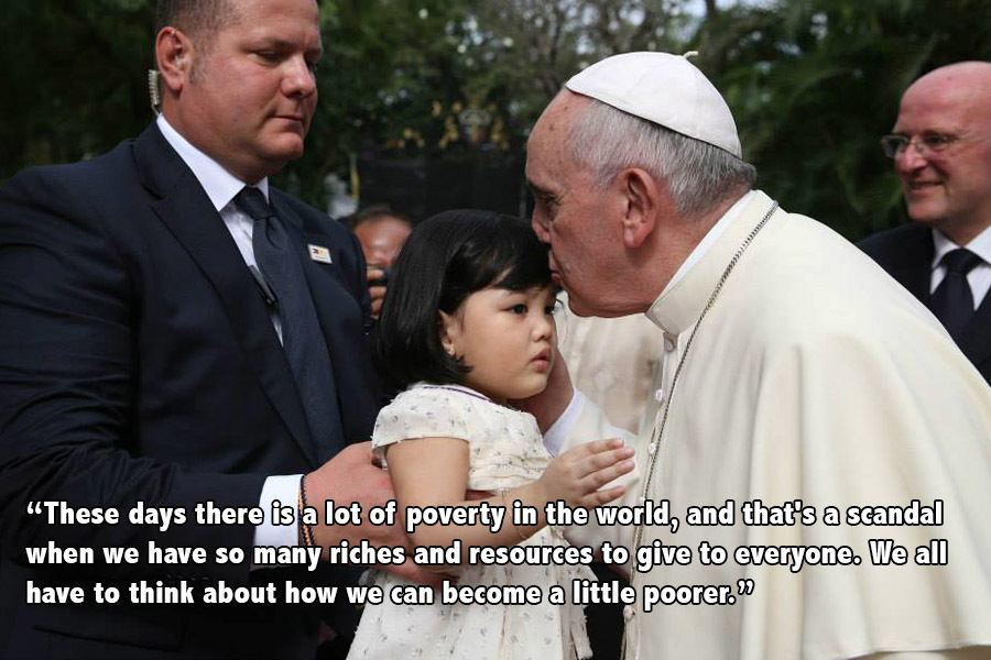 Pope Francis Progressive Quotes Kiss