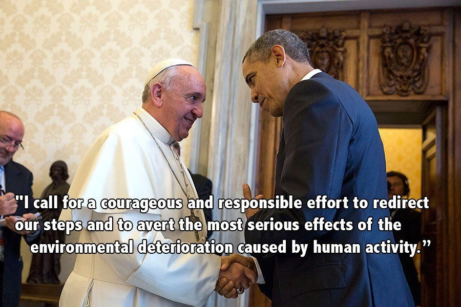 Pope Francis Progressive Quotes Obama