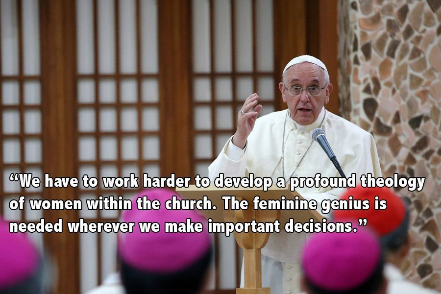 Pope Francis Quotes On Women