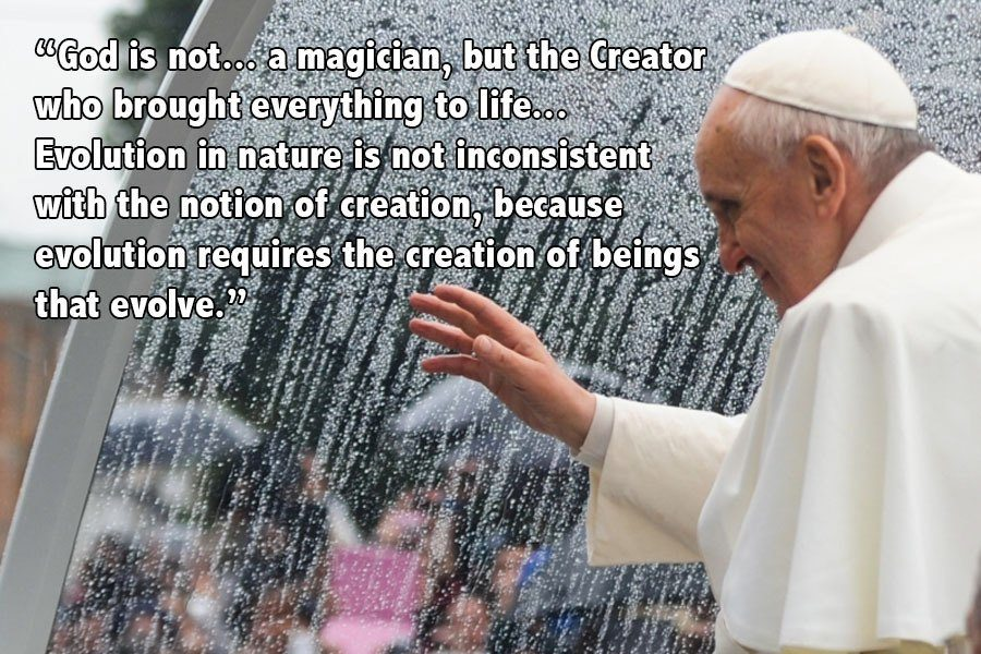 Pope Francis On Evolution